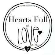 Hearts Full of Love Logo