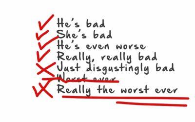 The Bad List
